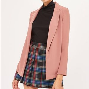 Topshop dusty rose boyfriend blazer